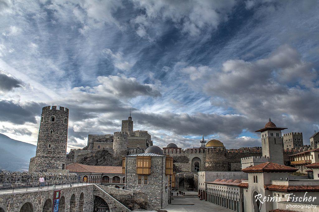 Rabati fortress complex in Georgia