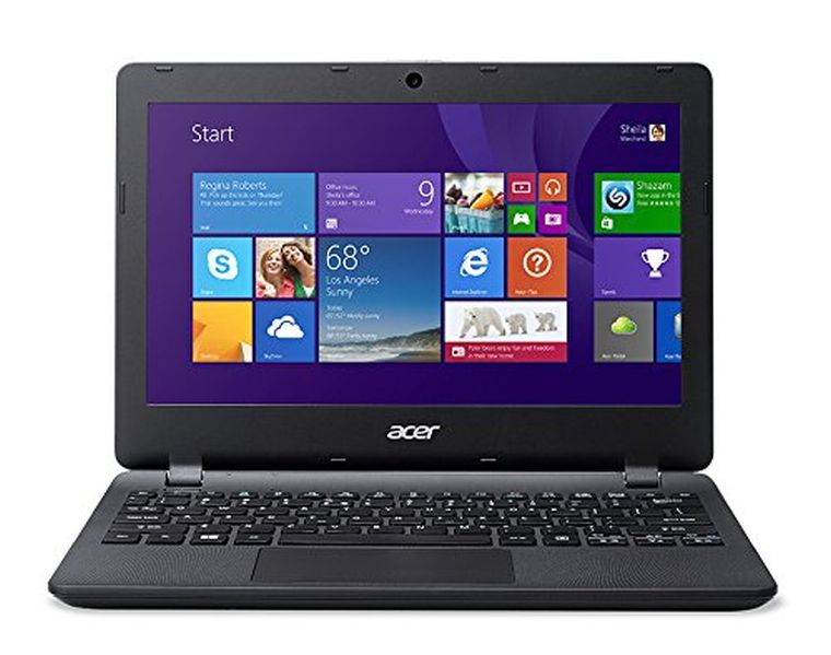 Acer Aspire E 11 ES1-111M-C40S 11.6-Inch Laptop (Diamond Black)