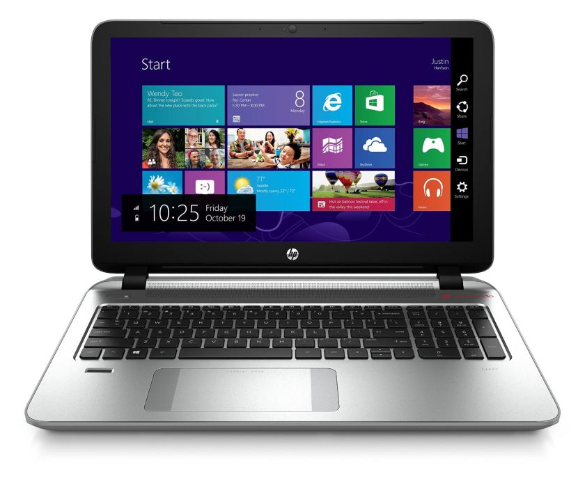 HP ENVY 15.6 Inch Laptop (Intel Core i7, 8 GB, 1 TB HDD, Black, Silver) - Free Upgrade to Windows 10