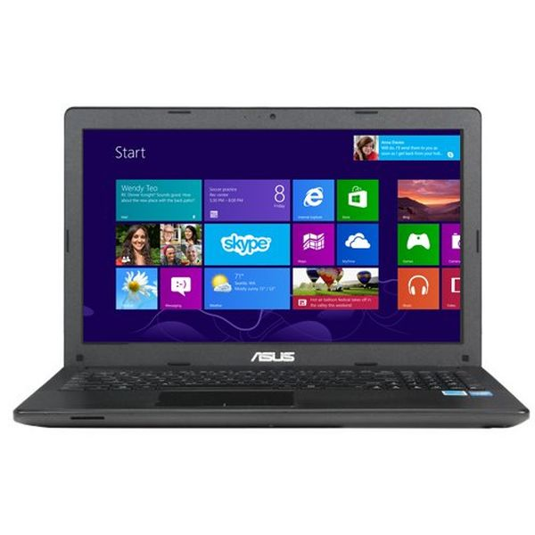 """ASUS 15.6"""" Notebook 2.16 GHz Intel Celeron N2830 Processor, 4GB RAM and 500GB (OLD VERSION)"""