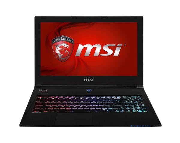 """MSI GS60 GHOST PRO 3K-097 Gaming Notebook - Intel Core i7-4710HQ, 16GB DDR3L Memory, 128GB m2SATA + 1TB 7200RPM HDD, NVIDIA GeForce GTX 870M w/3GB GDDR5, 15.6"""" WQHD+ 3K (2880 x 1620) Display, Windows 8.1 64-Bit"""