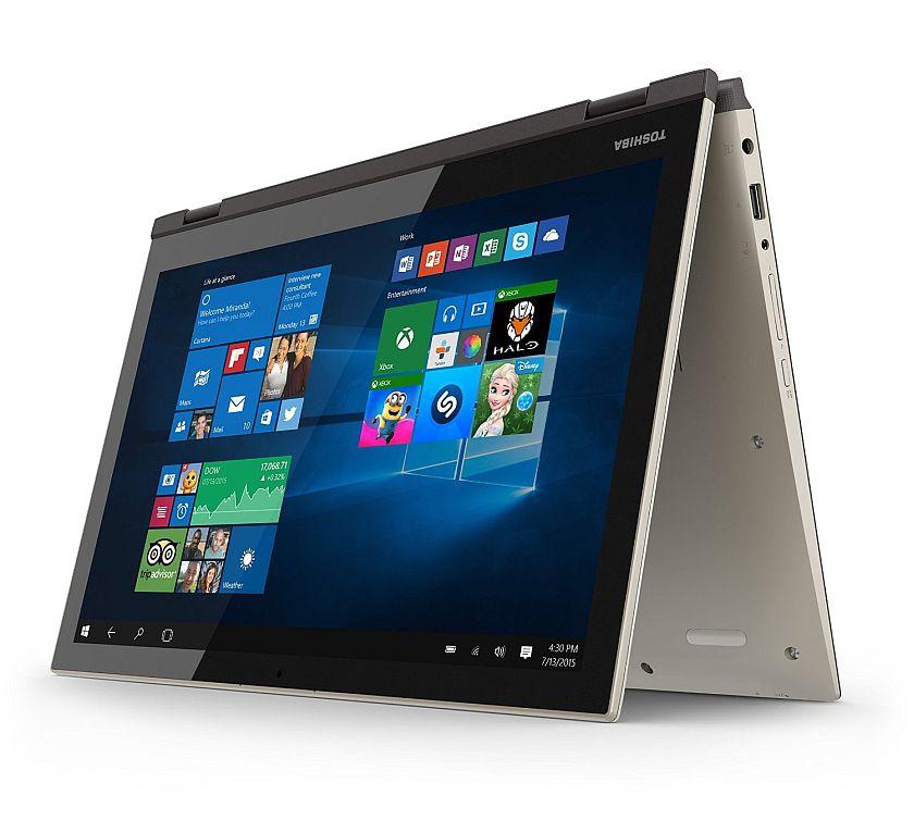 Toshiba Satellite Fusion 15 L55W-C5257 15.6-Inch Convertible 2 in 1 Touchscreen Laptop