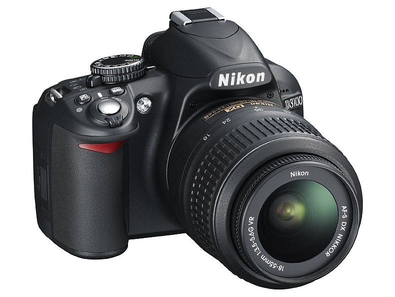 Nikon D3100 DSLR Camera with 18-55mm f/3.5-5.6 Auto Focus-S Nikkor Zoom Lens