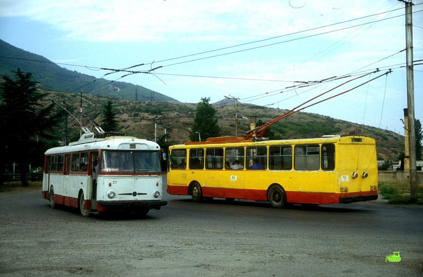 Trolleybuses in Gori