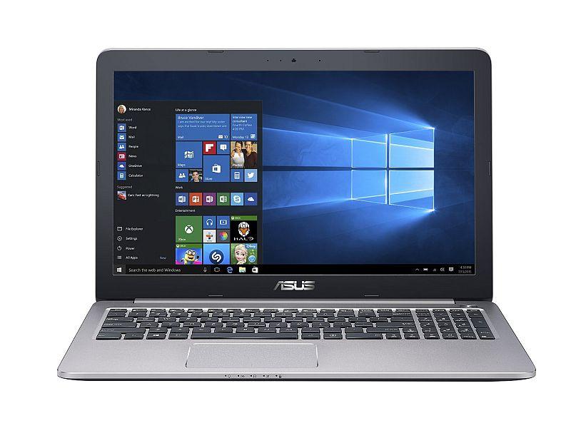 ASUS K501UX 15-inch Gaming Laptop (Intel Core i7 Processor, 8GB RAM, 256GB SSD Hard Drive, Windows 10 (64 bit)), Black/Silver Metal