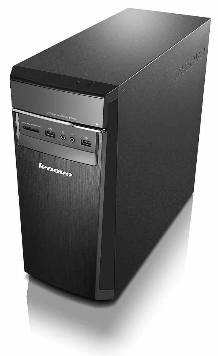 Lenovo H50 Desktop (Core i5, 8 GB RAM, 1 TB HDD, Windows 10) 90B700EEUS