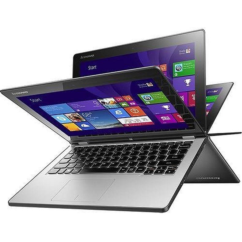 """Lenovo Flex 3 11.6"""" TouchScreen 2-in-1 Laptop PC - Intel Celeron processor N2840/ 4GB DDR3L / 500GB HD / HD Webcam / WLAN 802.11b/g/n / Bluetooth 4.0 / Windows 8.1"""
