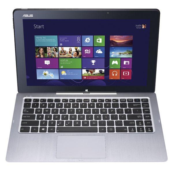 Asus - Transformer Book T300LA-US51T - Intel Dual-Core i5-4200U 1.60GHz - 4GB RAM - 128GB SSD - Webcam - Bluetooth - Windows 8.1 64-bit - 13.3-inch (1920x1080) Multitouch