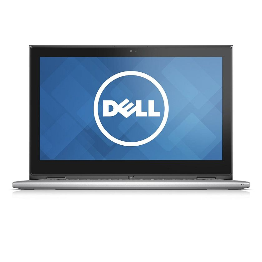 Dell Inspiron 13 7000 Series FHD 13.3 Inch Convertible 2 in 1 Touchscreen Laptop (Intel Core i7 5500U, 8 GB RAM, 256 GB SSD, Silver) with MaxxAudio- Free Upgrade to Windows 10