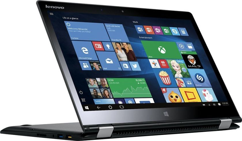 "Lenovo - Yoga 3 2-in-1 14"" Touch-Screen Laptop - Intel Core i5 - 8GB - 256GB SSD - Black"