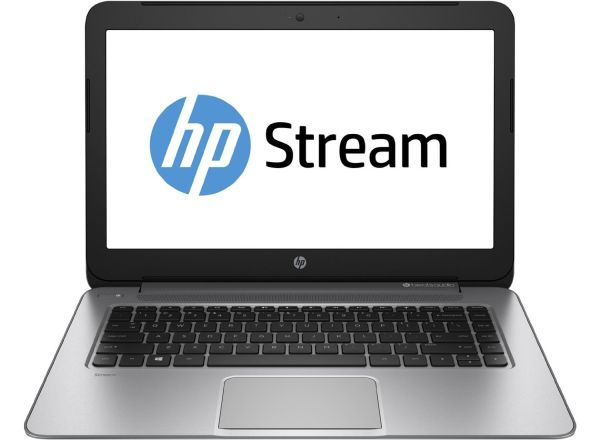 HP Stream 14 Quad Core Laptop with Beats Audio (Natural Silver)