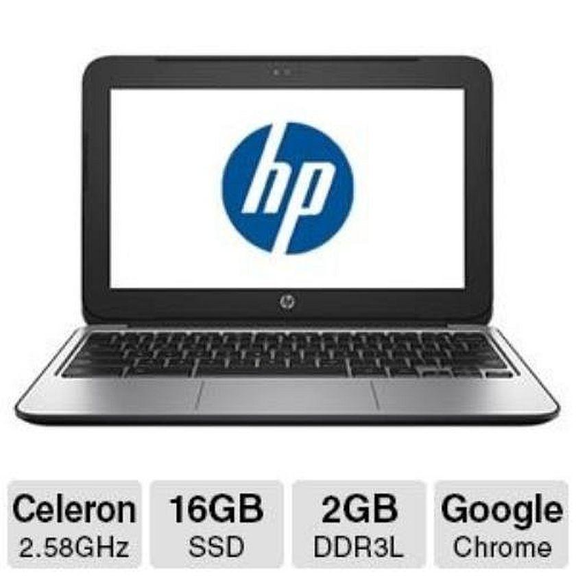 HP Chromebook L6V35AA#ABA 11.6-Inch Netbook (Black