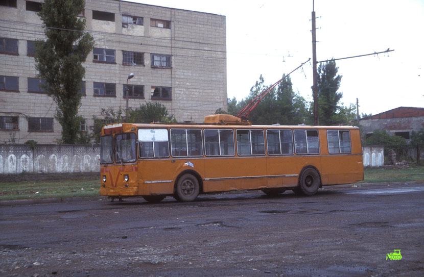 ZIU-9 Trolleybus in Kutaisi