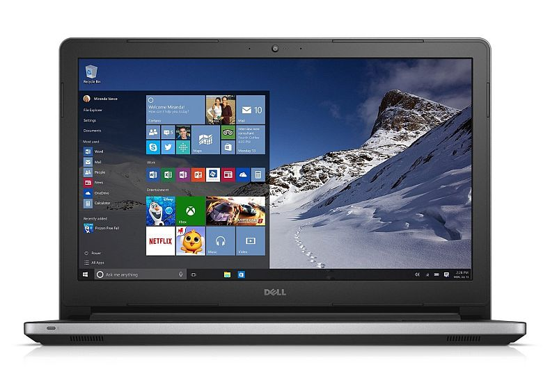 "Dell Inspiron 15 i5558-5718SLV Signature Edition Laptop - 15.6"" 1080p Full HD Touchscreen, Intel Core i5-4210U, 8GB RAM, 1TB HDD, Windows 10 Home (Silver)"