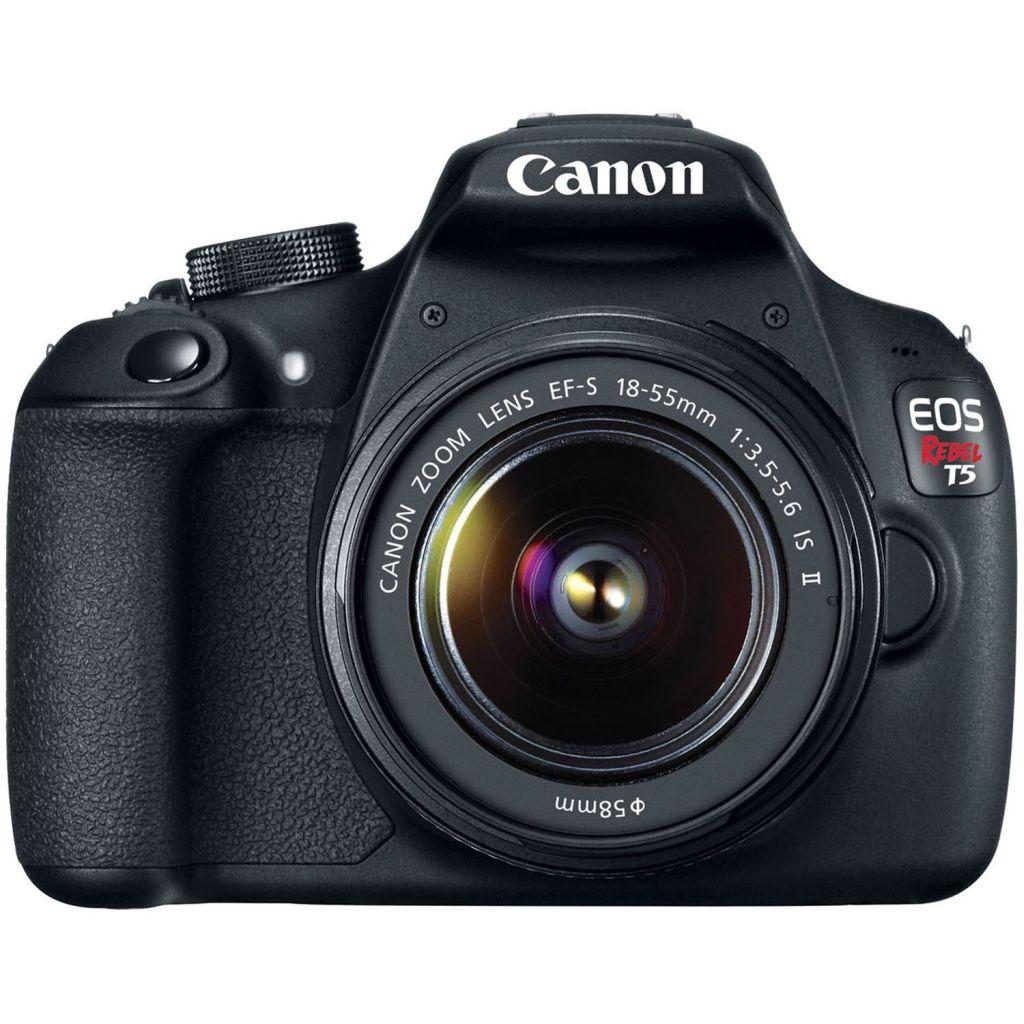 Canon EOS Rebel T5 EF-S 18-55mm IS II Digital SLR Kit