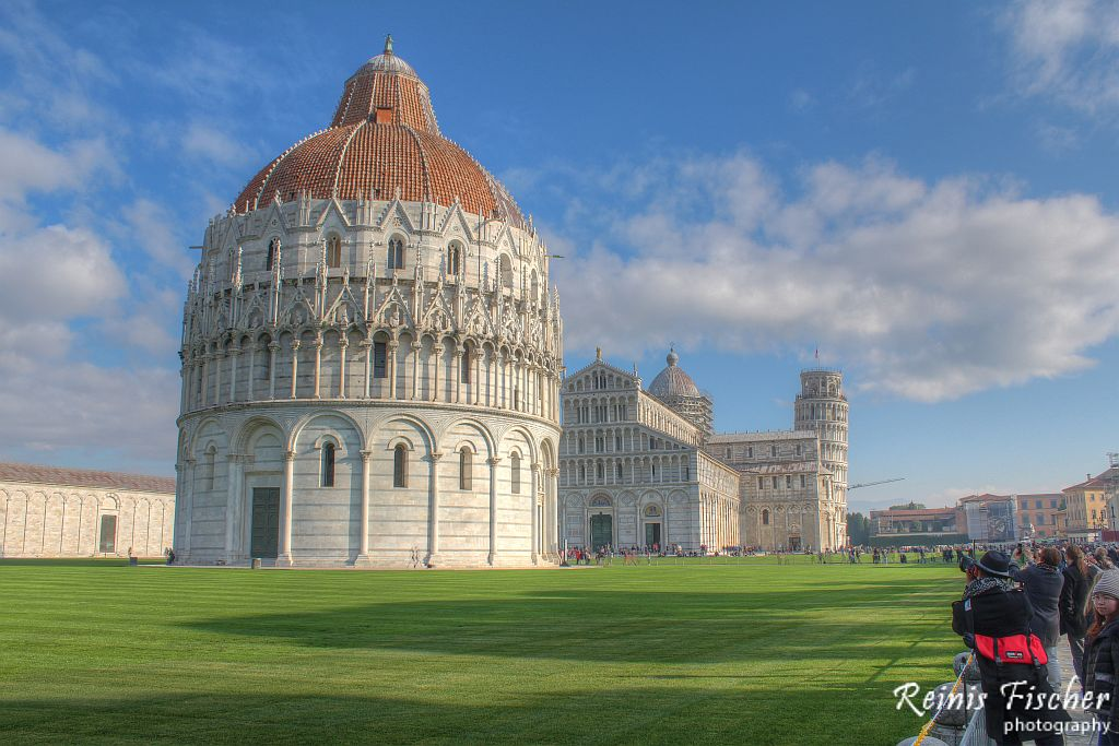 Cathedral near Pisa tower
