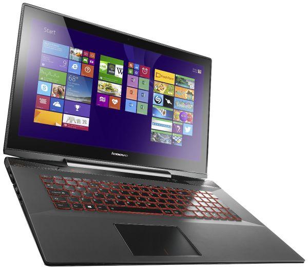 Lenovo Y70 17.3-Inch Touchscreen Gaming Laptop (80DU004KUS) Black