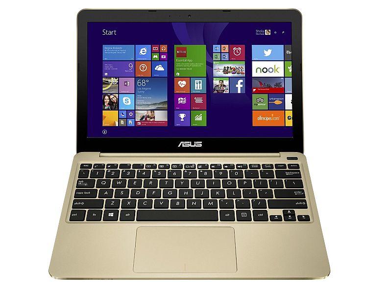 ASUS X205TA 11.6 Inch Laptop (Intel Atom, 2 GB, 32GB SSD, Gold) - Free Upgrade to Windows 10