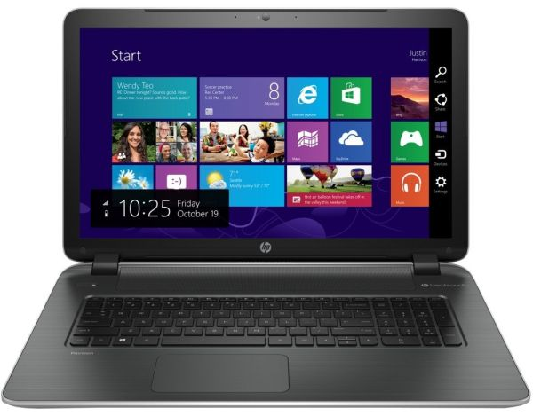 "HP Pavilion 17-f053us - 17.3"" Ultrabook - AMD Quad-Core A8 / 6GB DDR3L SDRAM / 1TB HDD / Windows 8.1 / AMD Radeon R5 Graphics / SuperMulti DVD Burner / Beats Audio / WiFi / HD Webcam - Silver (Certified Refurbished)"