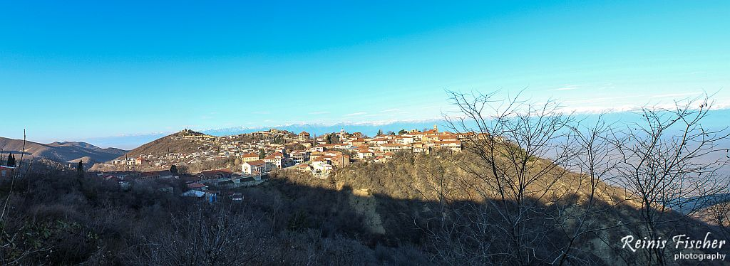Panorama of Sighnaghi town