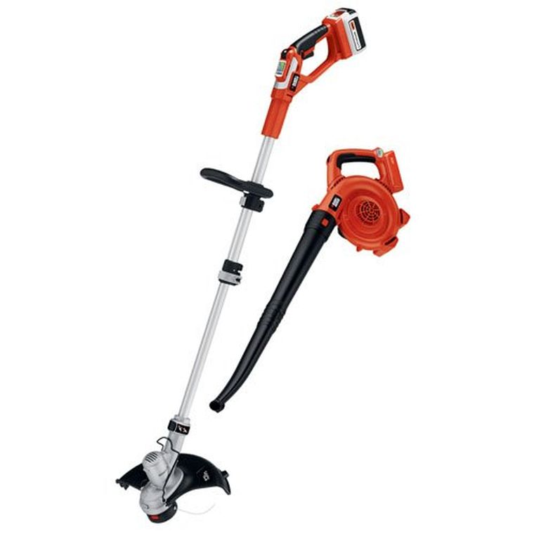 Black & Decker LCC140 40-volt Max String Trimmer and Sweeper Lithium Ion Combo Kit