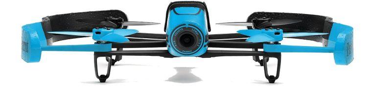 Parrot BeBop Drone 14 MP Full HD 1080p Fisheye Camera Quadcopter (Blue)