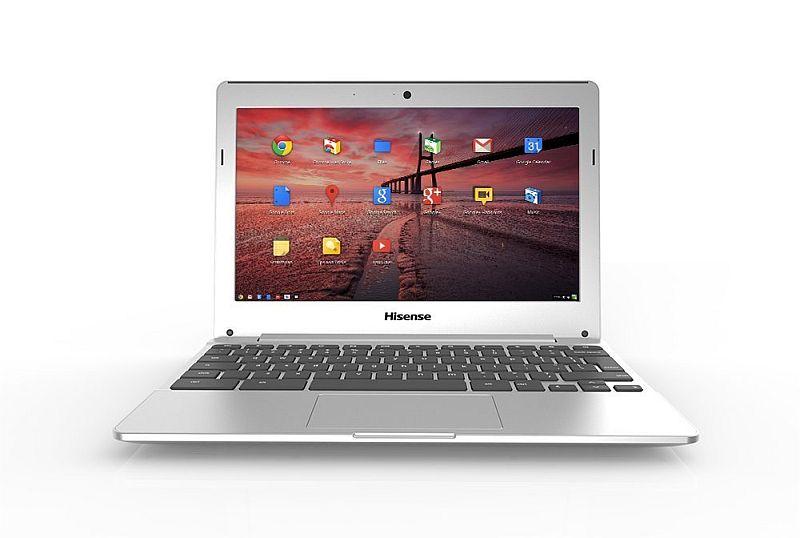 "Hisense Chromebook C12 11.6"" Cloud Computer (Silver)"