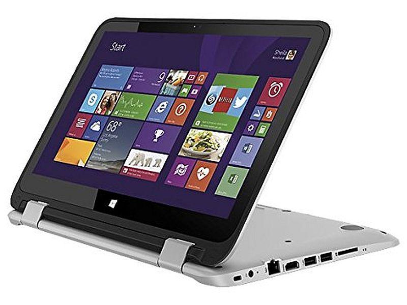 HP Pavilion X360 13.3-Inch WLED HD Touch-screen Convertible Laptop (5th Gen Intel Core I3-5010u 3MB L3 Cache 2.1GHz Processor, 4GB DDR3L SDRAM, 500GB HDD, Windows 8.1 64-bit), Silver