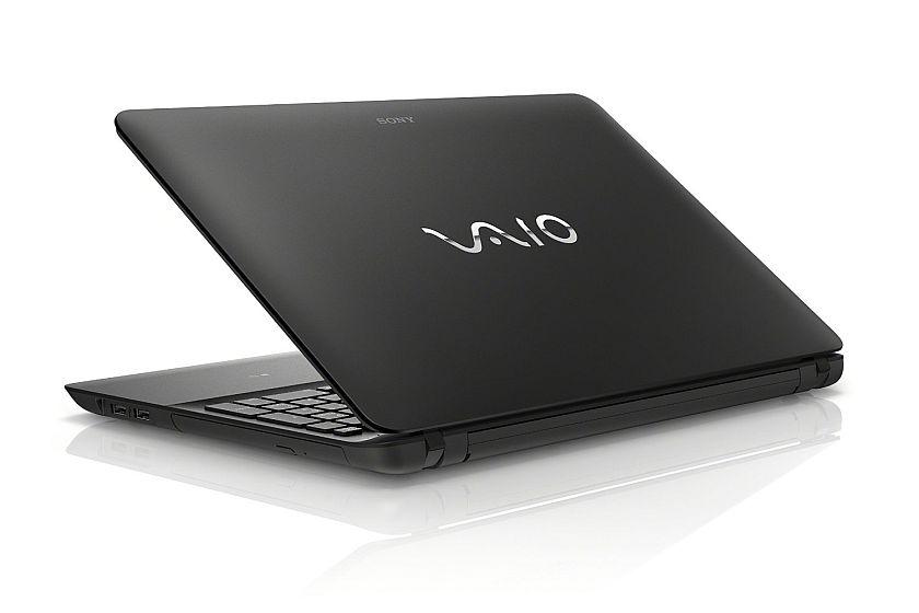 Sony VAIO Fit 15E SVF15412CXB 15.5-Inch Laptop (1.7 GHz AMD A8-5545M Processor, 4GB DDR3L, 750GB HDD, Windows 8) Black
