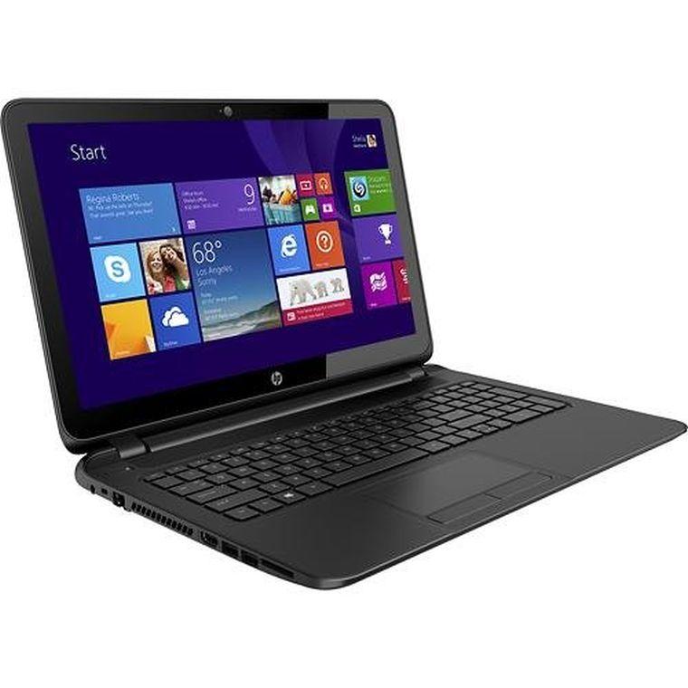 "HP Touchsmart 15.6"" Touchscreen Laptop / Gen 4 Intel Dual-Core Processor / 4GB Memory / 500GB Hard Drive / SuperMulti DVD±RW / Windows 8.1/ 2 USB 3.0 ports and 1 USB 2.0 port/ Black Color"