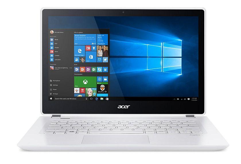 Acer Aspire V 13 V3-372T-5051 13.3-inch Full HD Touch Notebook - Platinum White (Windows 10)