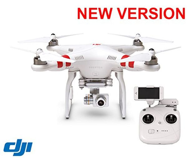 DJI Phantom 2 Vision+ V3 HD Gimbal Quad copter, New Remote, Motors, Compass