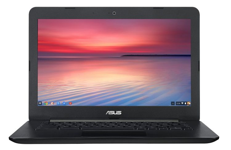 ASUS Chromebook 13-Inch HD with Gigabit WiFi, 16GB Storage & 2GB RAM (Black)