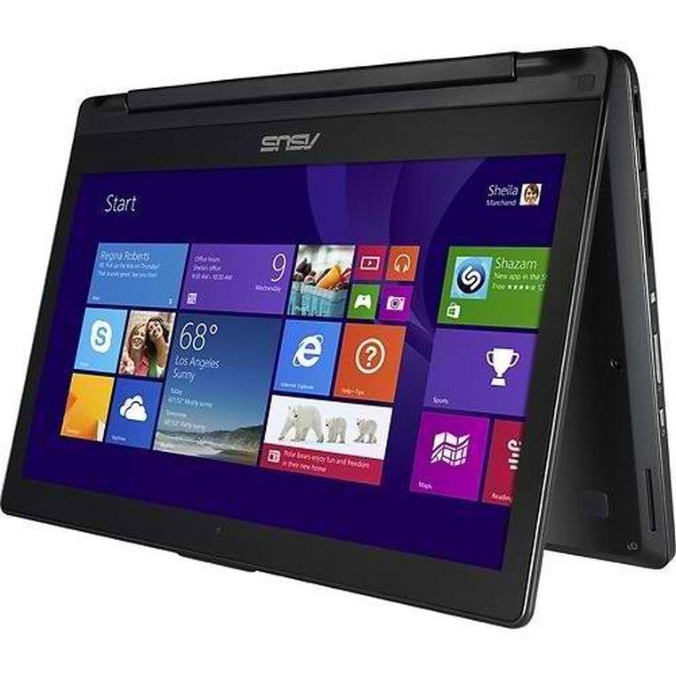Asus Flip 2in1 Q302la-bsi5t16 13- Inch Touchscreen Laptop (Intel Core I5-5200u 2.2ghz Processor, 8 Gb DDR3 Ram, 500 Gb Hard Drive, Windows 8.1) (Black)