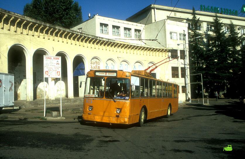 ZiU-9 Trolleybus at Vake