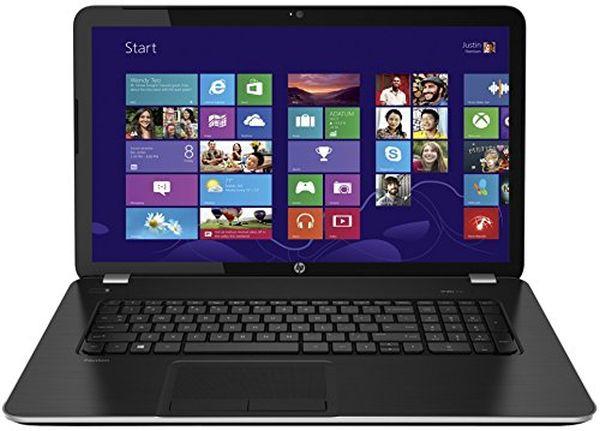 HP Pavilion 17-e117dx - 17.3-Inch Notebook PC - 4GB DDR3L / 750GB HDD / Intel Core i3 / Windows 8.1 / SuperMulti DVD Burner / WiFi / Webcam - Silver (Certified Refurbished)