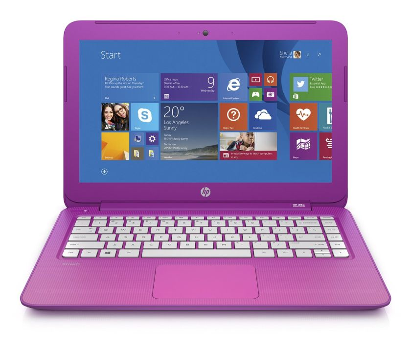 HP Stream 13 Laptop with Free Office 365 Personal for One Year (Orchid Magenta)