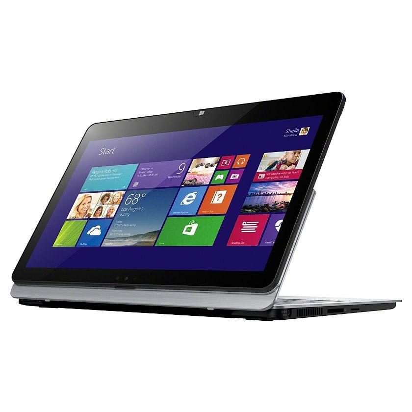 Sony VAIO Flip SVF11N13CXS (Silver) - Intel Pentium N3520 2.16GHz - 4GB RAM - 128GB SSD - Webcam - Win 8.1 - 11.6-inch (1920x1080) Touchscreen