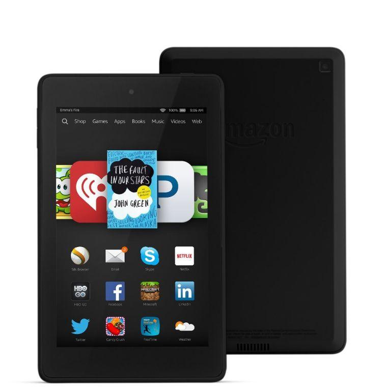 "Fire HD 6, 6"" HD Display, Wi-Fi, 16 GB - Includes Special Offers, Black"