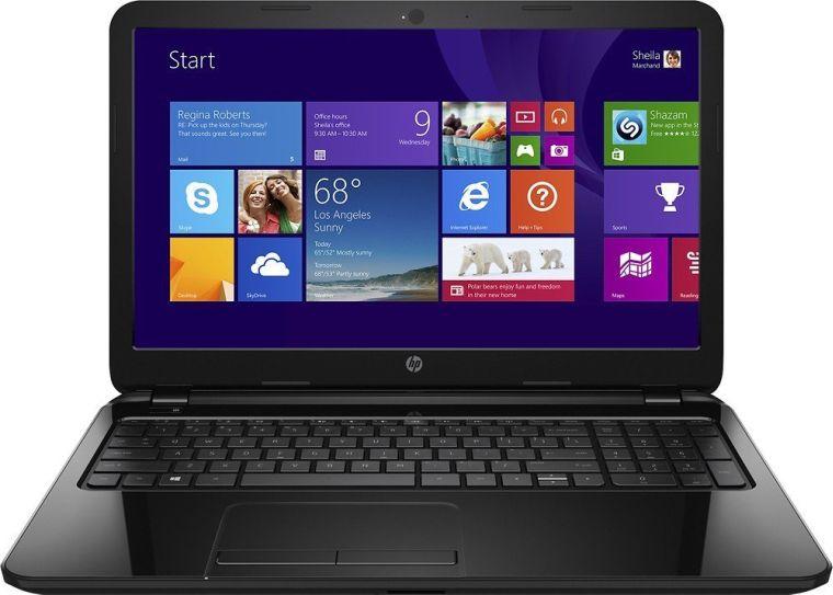 HP 15-r210dx Laptop Core i5-5200U / 6GB / 750GB - Black Licorice