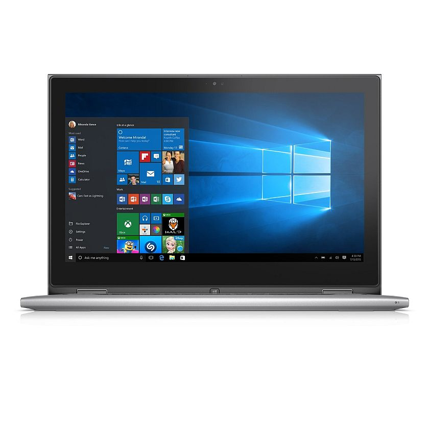 Dell Inspiron i7359-2435SLV 13.3 Inch 2-in-1 Touchscreen Laptop (6th Generation Intel Core i5, 4 GB RAM, 500 GB HDD)