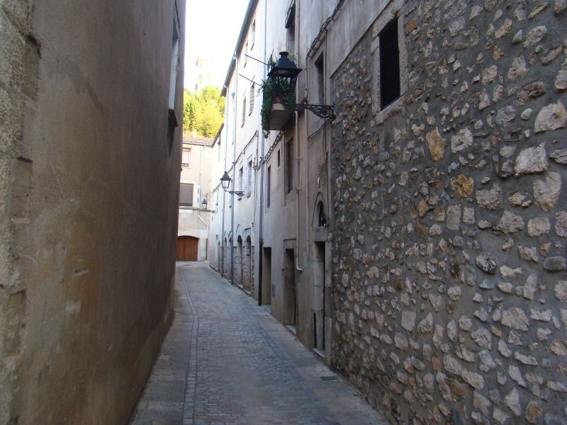 Scenic streets of Girona