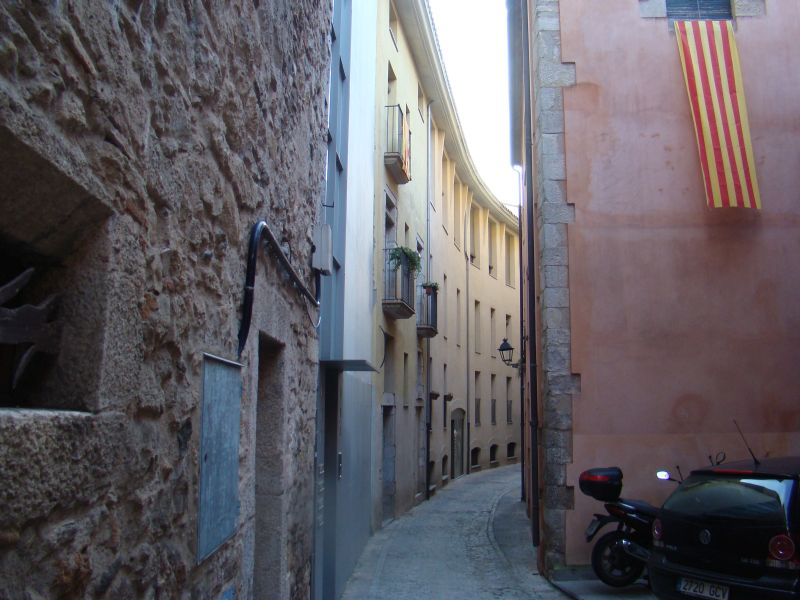 Scenic street of Girona