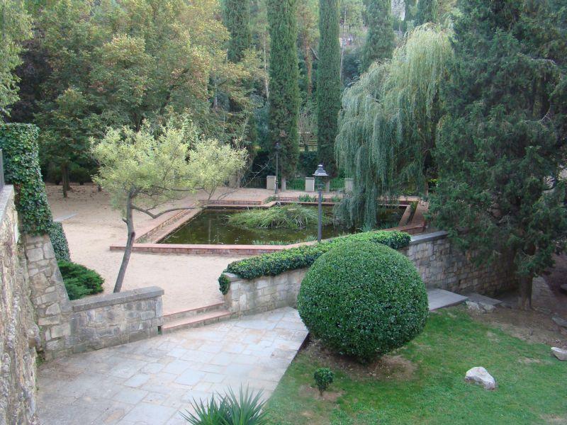 Garden close to Girona's Cathedral