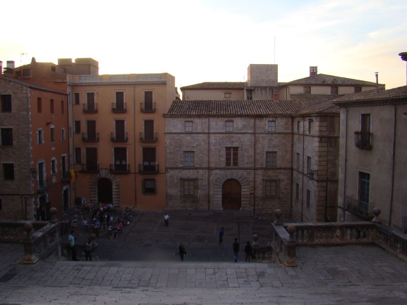 View from Cathedral of Girona