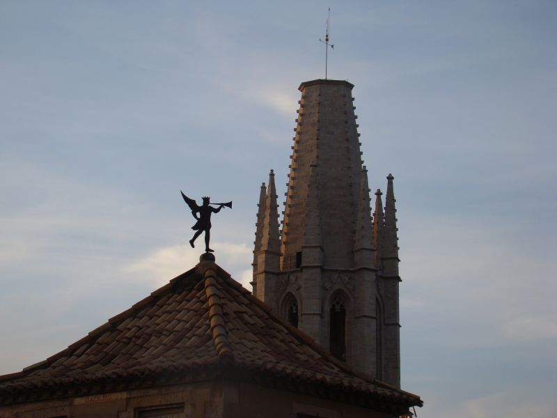 Another attempt of Art - Rooftops of Girona