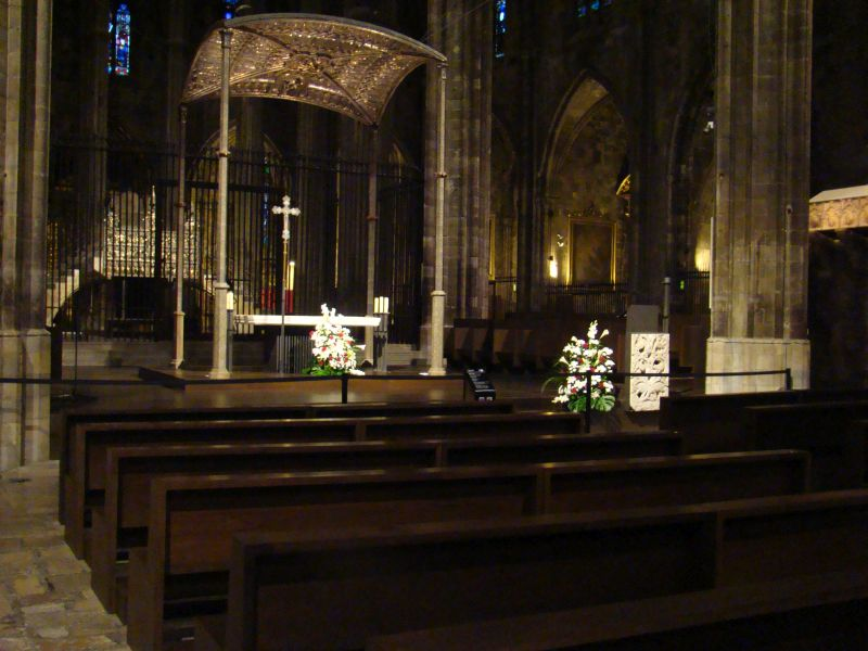 Altar of Cathedral of Girona