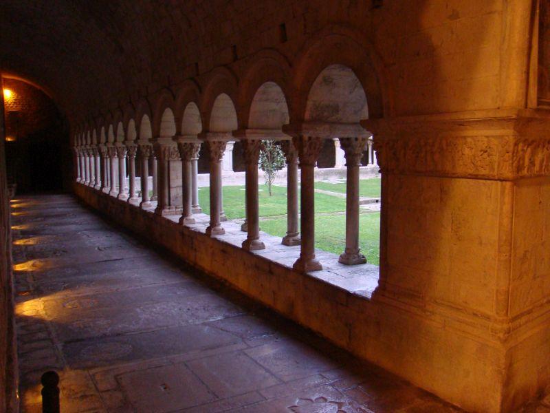 Backyard of Girona's Cathedral