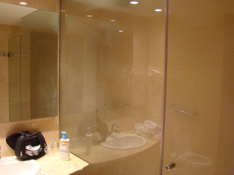 Bathroom at hotel Ultopia Girona