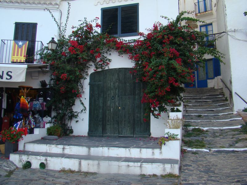 Beautiful house decorations at Cadaques